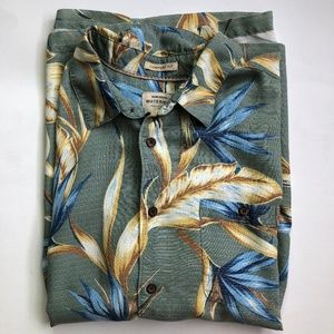 Quicksilver Waterman SZ L Comfort Fit Short Sleeve